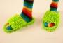 SAMOCHODKY upratovacie papuče zelené veľkosť 41 - 45