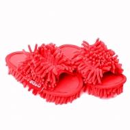 UPRATOVACIE papuče veľkosť 33-37 červené
