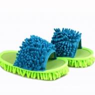 UPRATOVACIE papuče veľkosť 41 - 45 zeleno - tyrkysové