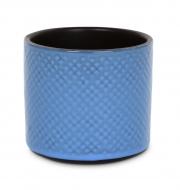 KERAMICKÁ váza svetlo - modrá