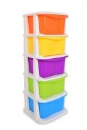 QUINTO s 5 farebnými boxami