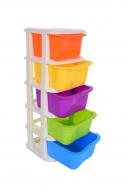 QUINTO s 5 farebnými boxmi