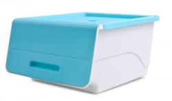 PRAKTICKÝ úložný box modrý