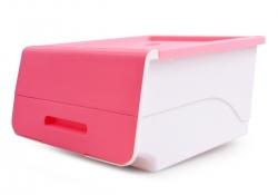 PRAKTICKÝ úložný box ružový