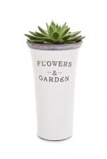 FLOWERS & GARDEN kvetináč výška 25 cm