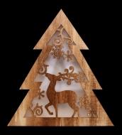 SVIETIACI drevený stromček