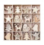 KOLEKCIA vianočných ozdôb 48 ks