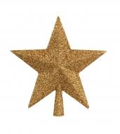 HVIEZDA špic na vianočný stromček zlatá