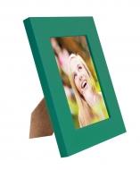 RÁMIK na fotku 9 x 13 cm tmavo - zelený
