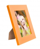 RÁMIK na fotku 9 x 13 cm oranžový