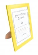 RÁMIK na fotku 21 x 30 cm žltý