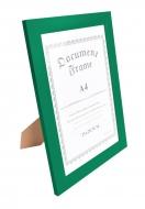 RÁMIK na fotku 21 x 30 cm tmavo - zelený