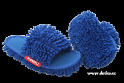 SAMOCHODKY upratovacie papuče modré veľkosť 41 - 45