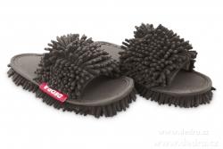 SAMOCHODKY upratovacie papuče šedé veľkosť 41 - 45