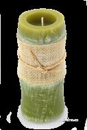 SVIEČKA v tvare bambusového stebla