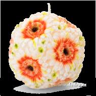 GERBERY dekoratívna sviečka