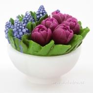 XXL tulipány a levandule