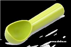 LYŽICA na zmrzlinu zelená