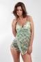 PAREONCCINI šaty zelené