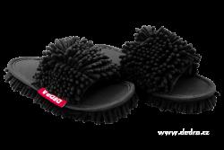 SAMOCHODKY upratovacie papuče čierne veľkosť 41 - 45