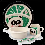 PANDA jedálenská sada pre deti