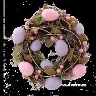 VENIEC s vajíčkami fialovo - ružový