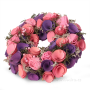 VENIEC v ružovo - fialových tónoch