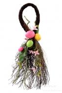 ZÁVESNÁ dekorácia s vajíčkami