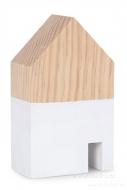 DREVENÝ domček výška 18 cm
