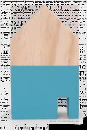 DREVENÝ domček výška 12 cm