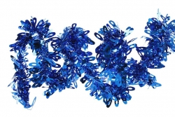 DEKORAČNÁ reťaz modrá