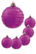 GUĽA so špirálou fialová 6 ks