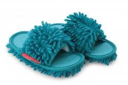DETSKÉ SAMOCHODKY upratovacie papuče tyrkysové veľkosť 31 - 35
