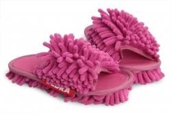 DETSKÉ SAMOCHODKY upratovacie papuče ružové veľkosť 31 - 35