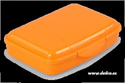 BOX na desiatu oranžový