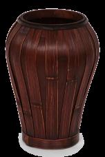VÁZA z bambusu mahagónová