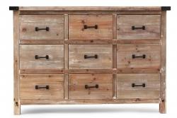 VEĽKÁ drevená komoda