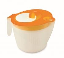 RUČNÁ sušička na šaláty oranžová