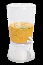 CRYSTAL dávkovač nápojov biely