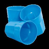 PLASTOVÝ pohár modrý sada
