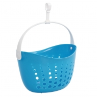ZÁVESNÝ košík na štipce modrý