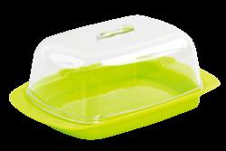 PLASTOVÁ dóza na maslo zelená