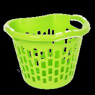 PRAKTICKÝ kôš na bielizeň zelený