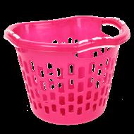 PRAKTICKÝ kôš na bielizeň ružový