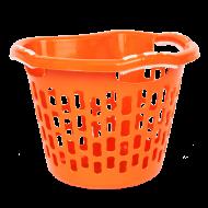 PRAKTICKÝ kôš na bielizeň oranžový