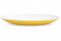 PLASTOVÝ tanier žltý