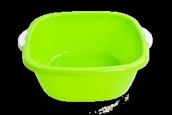 ŠTVORCOVÝ lavór zelený