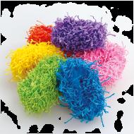 GUMIČKY do vlasov multicolor sada