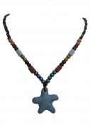 NATURAL náhrdelník hviezdice