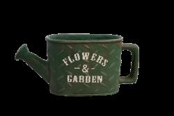 FLOWERS & GARDEN kvetináč olivový